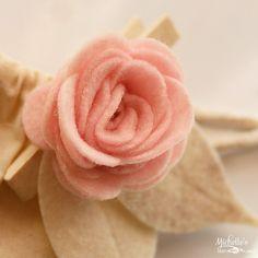 Felt Flowers made simple