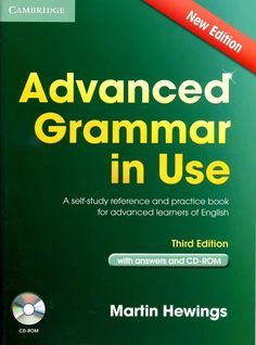 Advanced Grammar in Use Book with Answers and Interactive eBook: A Self-study Reference and Practice Book for Advanced Learners of English (Cambridge Advanced Grammar in Use) English Grammar Pdf, Advanced English Grammar, English Language Test, English Learning Books, English Book, English Words, Learn English, How To Teach Grammar, Basic Grammar