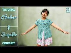 Chaleco para Niñas Tejido a Crochet / Tutorial | Todo crochet