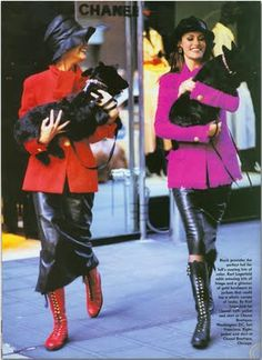 Fashion: Dogs in Vogue