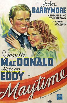 """Maytime"" (1937) Jeanette MacDonald, Nelson Eddy"