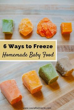 Ways to Freeze Homemade Baby Food 6 Ways to freeze homemade . - Age of - 6 Ways to Freeze Homemade Baby Food 6 Ways to freeze homemade . 6 Ways to Freeze Homemade Baby Food 6 Ways to freeze homemade baby food puree Avocado Baby Food, Healthy Baby Food, Food Baby, Baby Food Recipes Stage 1, Toddler Recipes, Store Baby Food, Freezing Baby Food, Making Baby Food, Baby Food Containers
