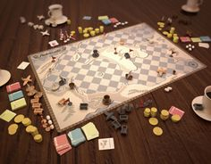 """Check out this @Behance project: """"Arabibusta (Boardgame Concept Design, 2009)"""" https://www.behance.net/gallery/10540279/Arabibusta-(Boardgame-Concept-Design-2009)"""