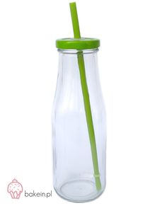 Bake in | Drinking Bottle with Straw www.bakein.pl