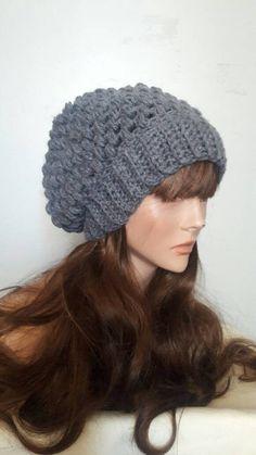 Slouchy Urban Beanie Chunky Beanie Handmade Hat Men Women Teen to Adult Celebrity Hat Dreadlock Hat Fashion Accessories Unique Gift Ideas