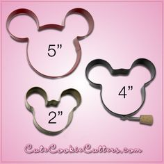 With this black Mickey Mouse cookie cutter, you can whip up cookies in the shape of the leader of the club that's made for you and me!See how stu. Mickey Mouse Cookie Cutter, Minnie Mouse Cookies, Mickey Mouse Bday, Mickey Mouse Baby Shower, Mickey Mouse Clubhouse Birthday Party, Disney Cookies, Mickey Party, Mickey Mouse Birthday, Minnie Mouse Party