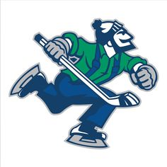 Vancouver Canucks Alternate Logo on Chris Creamer's Sports Logos Page - SportsLogos. A virtual museum of sports logos, uniforms and historical items. Hockey Logos, Nhl Logos, Hockey Teams, Hockey Players, Sports Logos, Sports Teams, Hockey Stuff, Vancouver Canucks Logo, Dek Hockey