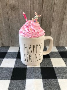 Diy Whipped Cream, Whipped Topping, Top Candy, Cream Mugs, Fake Cupcakes, Valentines Mugs, Diy Mugs, Candy Crafts, Hot Chocolate Bars