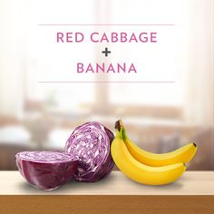 Red Cabbage + Banana