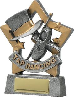 Tap Dance Star - For the rising star at your dance school, this trophy is sure to be a well received at your next presentation! Glass Trophies, Sports Trophies, Dance Awards, Corporate Awards, Engraving Services, Tap Dance, Good Things, Stars, Dancing