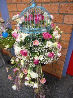 bloemstuk voor de wedstrijd van school terra 2015