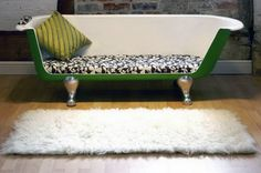 Bath Tub Sofa | 17 Quirky Couches Made from Repurposed Materials