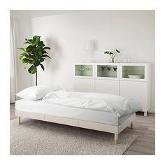 FLOTTEBO Rozkládací pohovka - Lofallet béžová - IKEA
