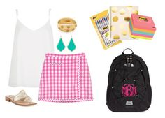 """""""back to school"""" by helenhudson1 ❤ liked on Polyvore"""