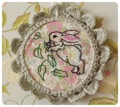 Boo Embroidery by Grace - Inspired by the Belle & Boo Book of Craft