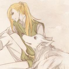 Celegorm and Huan