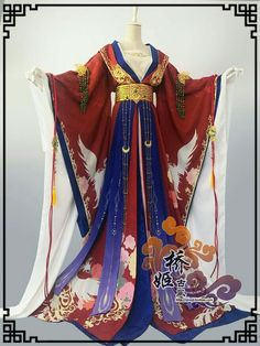 ⋋✿ ⁰ o ⁰ ✿⋌ Costume Sexy, Cosplay Costume, Hanfu, Pretty Outfits, Pretty Dresses, Cool Outfits, Traditional Fashion, Traditional Dresses, Kimono Fashion