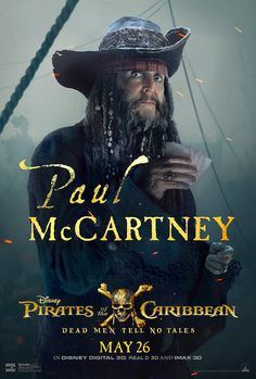 Legendary musician Paul McCartney has revealed the first look at himself in Pirates of the [...]
