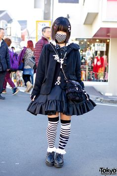 harajuku fashion | Harajuku Goth Style w/ Axes Femme, Catherine Cottage & h.NAOTO Blood