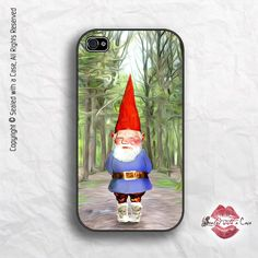Gnome - iPhone 4 Case, iPhone 4s Case and iPhone 5 case. $16.99, via Etsy.