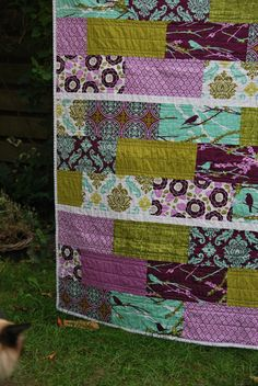 Joel Dewberry Aviary line Quilt | Flickr - Photo Sharing!
