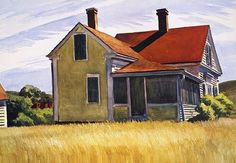Marshall's house by Edward Hopper