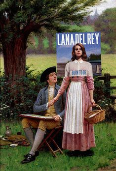 Lana Del Rey / The Lord of Burleigh, de Edmund Blair Leighton - Eisen Bernard Bernardo