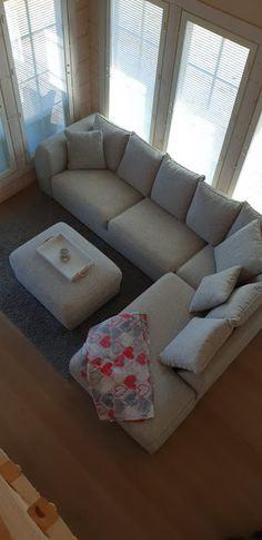 Päiväunelmia ja unelmapäiviä: Pihasauna Sofa, Couch, Furniture, Home Decor, Homemade Home Decor, Settee, Couches, Home Furnishings, Sofas