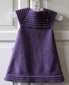 - Lilly is Love Girls Knitted Dress, Knit Baby Dress, Knitted Baby Clothes, Kids Knitting Patterns, Dress Sewing Patterns, Knitting For Kids, Woolen Dresses, Baby Girl Patterns, Baby Girl Crochet