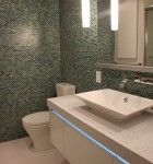 a great bathrooom begins with a great designer - this one from Kitchen Planners in Metro DC
