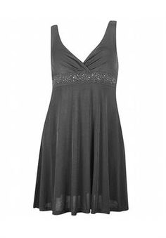 Grey Party Angel Dress image