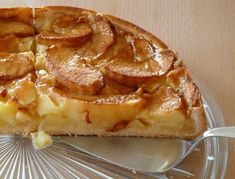 Apple Recipes Easy, Easy Cake Recipes, Sweet Recipes, German Apple Cake, Calories, Cookies Et Biscuits, Apple Pie, French Toast, Easy Meals