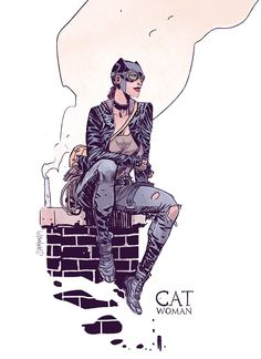 Pinup Arena • thecomicartblog: Street Style Catwoman redesign...