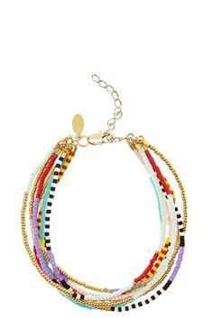 Multi Strand Bead Bracelet | Calypso St. Barth