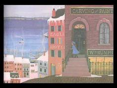 "Barbara Cooney, illustration for ""Miss Rumphius"" Children's Book Illustration, Watercolor Illustration, Book Illustrations, Barbara Cooney, Preschool Garden, Five In A Row, Read Aloud Books, Chula, Children's Picture Books"