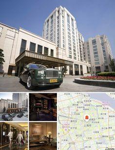 Jouissant d'un emplacement unique sur le Bund et occupant le seul bâtiment neuf depuis plus de 60 ans), l'hôtel offre une vue spectaculaire sur le Bund, et, par-delà la rivière Huangpu, jusqu'à Pudong, ainsi que sur le jardin verdoyant de l'ancien consulat britannique voisin, présentant un contraste agréable avec la ville fourmillante.