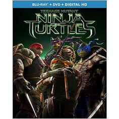 Teenage Mutant Ninja Turtles (2014) (Blu-ray + DVD + Digital HD) (Widescreen)