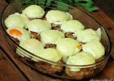 Ruskie kluski - Obżarciuch Polish Recipes, Polish Food, Pork, Pudding, Cheese, Cooking, Kitchen, Desserts, Kitchens
