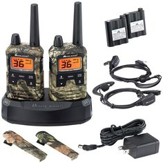 Midland - X-TALKER T295VP4, 36 Channel GMRS Two-Way Radio - Up to 40 Mile Range Walkie Talkie, 121 Privacy Codes, NOAA Weather Scan   Alert (Pair Pack) (Mossy Oak Camo) *** Be sure to check out this awesome product. (This is an affiliate link)