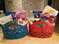 Teen girl easter basket idea gift ideas pinterest basket practical easter baskets for my older teenagers negle Choice Image