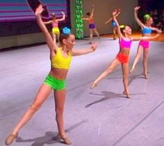 improv group dance was originally suppose to be a dedication dance in remembrance of Broadway Baby