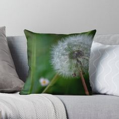 Dandelion on green background- old photo taken by me in Romania's country side. • Millions of unique designs by independent artists. Find your thing.