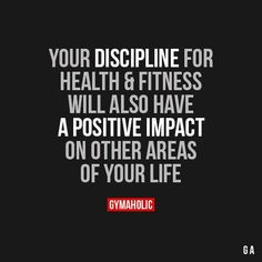 Quotes for Motivation and Inspiration QUOTATION – Image : As the quote says – Description Your Discipline For Health And Fitness - Fit Girl Motivation, Fitness Motivation Quotes, Health Motivation, Weight Loss Motivation, Motivation Inspiration, Workout Motivation, Fitness Goals, Fitness Inspiration, Citations Nutrition