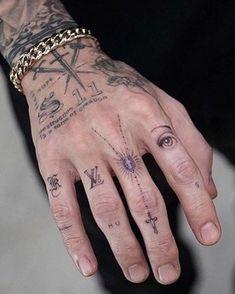 Cool Forearm Tattoos, Leg Tattoo Men, Cute Tattoos, Leg Tattoos, Tattos, Sleeve Tattoos, Hand And Finger Tattoos, Finger Tats, Hand Tattoos For Guys