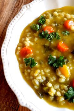 Vegetable Barley Soup - Lord Byron's Kitchen Soup Appetizers Soup Appetizers dinners carb Soup Appetizers Appetizers with french onion