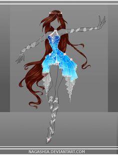 COM: Rani Enchantix Design by Nagashia.devianta… on COM: Rani Enchantix Design by Nagashia.devianta… on Dress Drawing, Drawing Clothes, Outfit Drawings, Fashion Design Drawings, Fashion Sketches, Drawing Fashion, Anime Outfits, Cool Outfits, Fairy Outfits