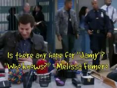 """Is there any hope for """"Jamy""""?""""Who knows?"""" -Melissa Fumero"""