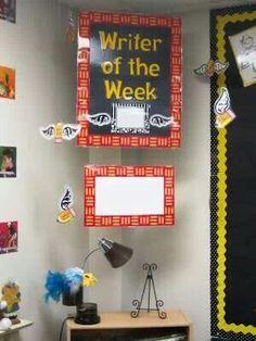 Writer of the week