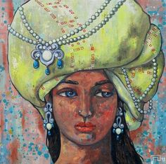 """Recently sold on IndianArtCollectors.com!  """"Reflection_66854"""" by Suruchi Jamkar Acrylic On Canvas, Size(inches): 20X20  See more artworks by Suruchi Jamkar at: http://www.indianartcollectors.com/artist/SuruchiJamkar"""