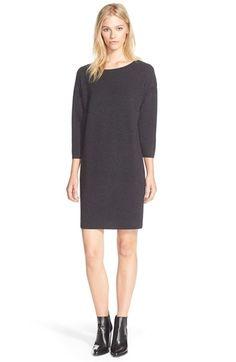 Women's Vince Woven Back Sweater Dress, Size X-Small